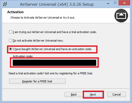 AirServer を用いて iPod Touch の画面を Windows PC 上に表示
