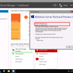 Windows Server Technical Preview 2 が公開されています